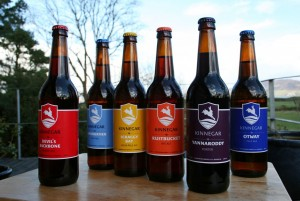 The Kinnegar Brewing range from Rathmullen, Donegal.