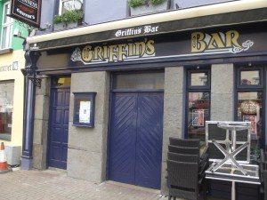 Griffin's Bar in recovery after another Saturday night.